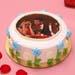 Affection Photo Chocolate Cake