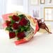 Alluring 6 Red Rose Bouquet