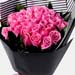Appealing 24 Pink Roses Bouquet