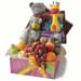 Baby Playbook And Bunny Soft Toy Baby Shower Hamper