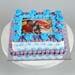 Couple Love Photo Cream Cake