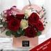 Cute Basket Flower Arrangement
