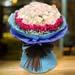 Enchanting Senorita And Dark Pink Roses Bouquet