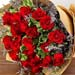 Exotic 20 Red Rose Bouquet