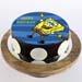 Happy Spongebob Chocolate Photo Cake