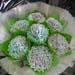 Hydrangea Chocolate And Vanilla Cupcakes Bouquet