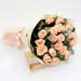Lovely 20 Peach Rose Bouquet