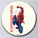 Spiderman In Action Pineapple Cake