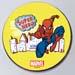Super Hero Spiderman Pineapple Cake