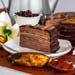 Tempting Chocolate Banana Crepe Cake