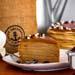 Tempting Espresso Macchiato Crepe Cake