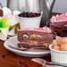 Tempting Lychee Chocolate Crepe Cake