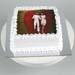 Valentine Photo Vanilla Cake