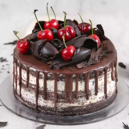 Delicate Black Forest Cake