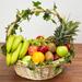 Basket Of Healthy Fruits