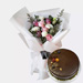 Sweet Desire Bunch With Chocolate Cake