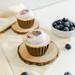 Blueberry Cupcakes 6 Pcs