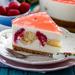Fresh Lychee Cheesecake