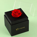 Forever Red Rose With Black Box