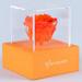 Orange Forever Rose In Orange Box