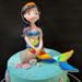 Red Velvet Mermaid Cake