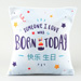 Born Today Printed Cushion