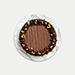 Crunchy Walnut Chocolate Cake