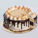 Belgium Chocolate S mores Cake 5 inches