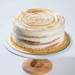 Citrus Meringue Swirl Cake 8 inches