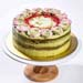Matcha Balsamic Strawberry Cake 5 inches