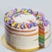 Rainbow Vanilla Bean Cake 8 inches
