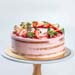 Raspberry Lemonade Cake 5 inches