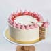 Raspberry Lychee Rose Cake 5 inches