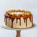 Salted Caramel Popcorn Cake 5 inches