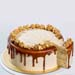 Salted Caramel Popcorn Cake 8 inches