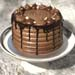 Decadent Nutella Chocolate Cake- 7 inches