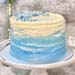 Starry Night Vanilla Cake- 7 inches