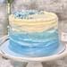 Starry Night Vanilla Cake- 8 inches