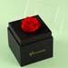 Forever Red Rose In Black Box