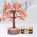 Handcrafted Agate Stone Wish Tree with Ferrero Rocher
