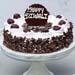 Happy Diwali Irresistible Black Forest Cake