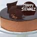 Happy Diwali Irresistible Crunchy Chocolate Cake