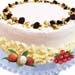 Lychee Martini Cake 1kg Non Alcohol