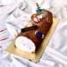 Traditional Chocolate Log Cake- 500 gms