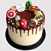 Avengers Birthday Vanilla Cake