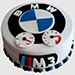 BMW Fondant Black Forest Cake