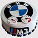BMW Fondant Truffle Cake
