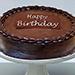 Classic chocolate ganache cake