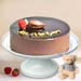 Rich Chocolate Cake With Teddy Bear