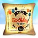 Pretty Happy Birthday Led Cushion